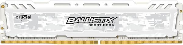 Оперативная память DIMM DDR4 16GB, 3000МГц (PC24000) Crucial BLS16G4D30AESC, 1.35В, радиатор