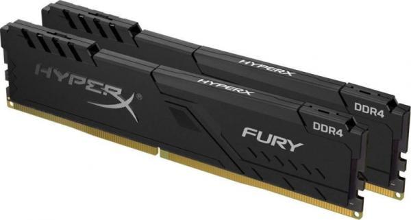 Оперативная память DIMM DDR4  8GB, 3000МГц (PC24000) Kingston HyperX Predator (HX430C15FB3K2/8), kit 4GB*2, 1.35В, радиатор