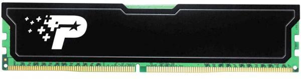Оперативная память DIMM DDR4  4GB, 2666МГц (PC21280) Patriot PSD44G266681H, 1.2В, радиатор