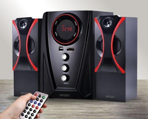 Колонки Bluetooth 2.1 с MP3 плеером Ginzzu GM-407