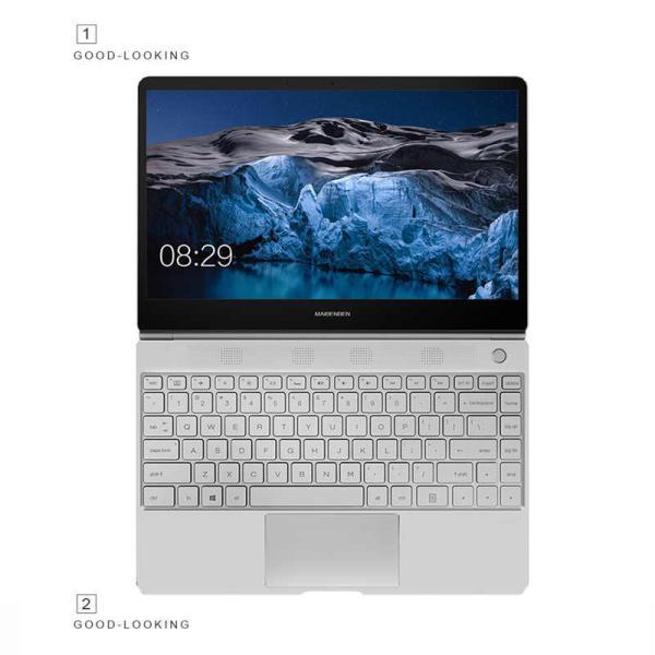 "Ноутбук 13"" MAIBENBEN JinMai6Pro, Celeron N4100 8GB 240GB SSD 1920*1080 IPS USB3.0 USB-C WiFi BT камера SD 1.3кг DOS серебристый"