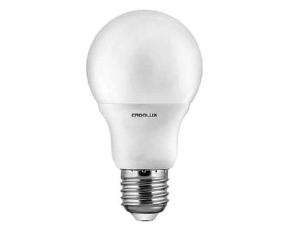 Лампа E27 светодиодная Ergolux LED-A60-15W-E27-4K (13638)