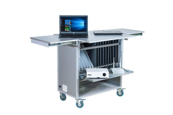 Мобильная компьютеризированная система РЕТ, получения цифровых данных для кабинета химии (ноутбук учителя, ноутбук ученика, система хранения и подзарядки, микроскоп и ПО)