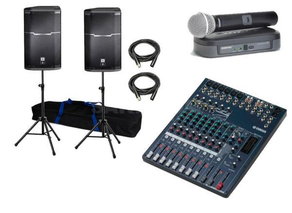 Система звукового сопровождения РЕТ, для общественных зон