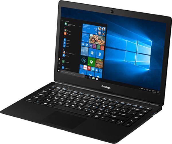 "Ноутбук 14"" Prestigio SmartBook 141A02, Atom Z3735F 1.33 2GB 32GB SSD1366*768 TN 2*USB2.0 WiFi BT microHDMI камера 1.4кг W10 черный"