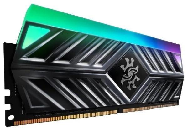 Оперативная память DIMM DDR4  8GB, 3200МГц (PC25600) A-Data AX4U320038G16A-ST4, 1.35В, радиатор