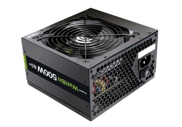 БП для корпуса ATX Zalman ZM500-XE, 500Вт, 80 PLUS, 20+4pin, 4+4pin(CPU)/ 2*6+2pin(PCI-E)/ 3*4pin(molex)/ 4*SATA, 120*120мм