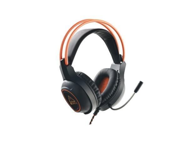Наушники с микрофоном проводные дуговые закрытые Canyon Nightfall CND-SGHS7