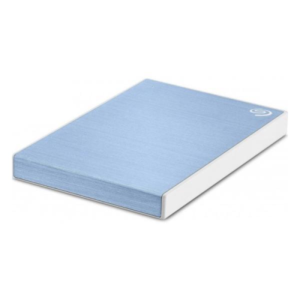 """Жесткий диск внешний 2.5"""" USB3.0 2TB Seagate STHN2000402, 5400rpm, microUSB B, компактный, синий"""