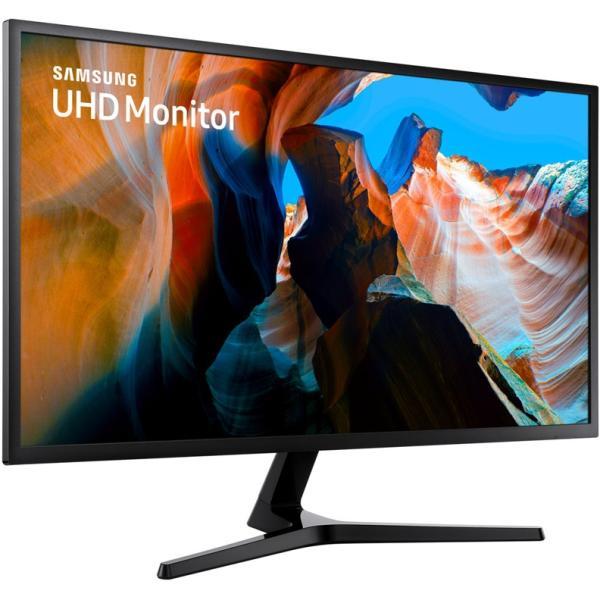 "Монитор ЖК 32"" Samsung U32J590UQI, 3840*2160, 16:9, 270кд, 3000:1, 4мс, 178/178, DisplayPort/2*HDMI, серый"