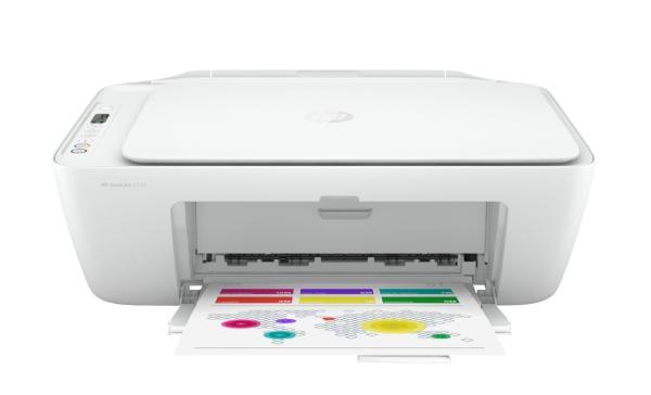 МФУ струйное HP Deskjet 2720, A4, 4800*1200dpi, 7.5/5.5стр/мин, 4 цвета, копир 300*300dpi, сканер 1200dpi, USB2.0, WiFi/AirPrint, 1000стр/мес