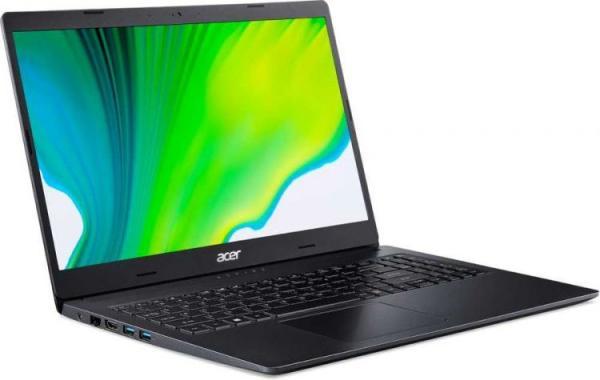 """Ноутбук 15"""" Acer Extensa EX215-22-R0A4 (NX.EG9ER.00F), Ryzen 3 3250U 2.6 4GB 256GB SSD 1920*1080 Radeon Vega 3 USB2.0/USB3.0 LAN WiFi BT HDMI камера 2.1кг DOS черный"""
