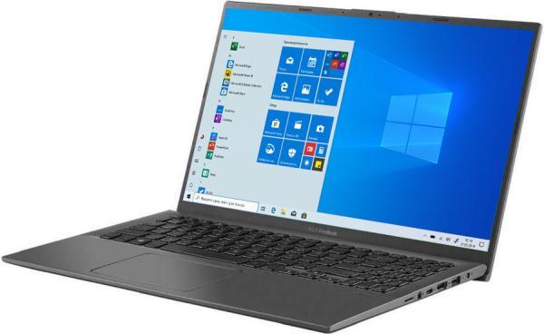 "Ноутбук 15"" ASUS A512DA-BQ1316, AMD Ryzen 5 3500U 2.1 8GB 512GB SSD 1920*1080 IPS Vega 8 USB2.0/USB3.1 USB-C WiFi BT HDMI камера 1.6кг DOS серый"