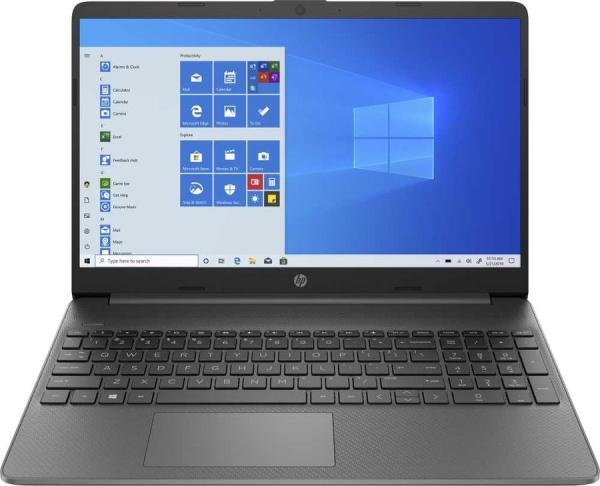 "Ноутбук 15"" HP 15s-eq0025ur (9RL67EA), AMD Ryzen 5 3500U 2.1 8GB 256GB SSD 1920*1080 Vega 8 USB3.0 WiFi BT HDMI камера SD 2.04кг W10 чёрный"