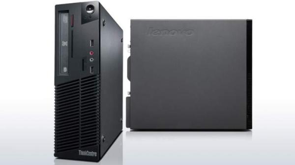 Компьютер Lenovo M72E SFF, Core i3-3220 3.3/ Звук Видео LAN1Gb/ DDR3 8GB/ SSD 120GB/ mATX/ Win 10 Pro черный, Восстановленный