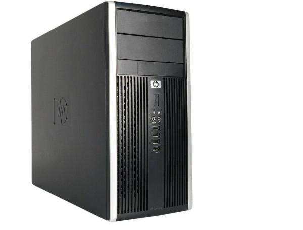 Компьютер HP Pro 6300 MT, Core i3-3240 3.4/ Звук Видео LAN1Gb/ DDR3 4GB/ SSD 120GB/ Win 10 Pro черный, Восстановленный