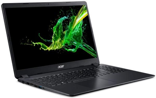 "Ноутбук 15"" Acer Aspire 3 A315-22-48FX (NX.HE8ER.014), AMD A4-9120e 1.5 4GB 128GB SSD 1366*768 TN Radeon R3 USB2.0/2*USB3.0 WiFi BT HDMI камера 1.94кг Linux чёрный"