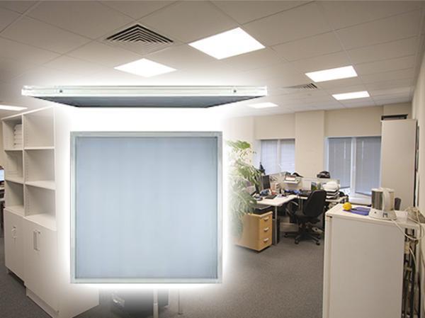 Светильник потолочный светодиодный Ultraflash LTL-6060-12 (14061)
