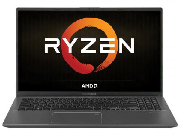 "Ноутбук 15"" ASUS X512DA-EJ434T, AMD Ryzen 3 3200U 2.6 8GB 256GB SSD 1920*1080 Vega 3 USB2.0/USB3.0 WiFi BT HDMI камера SD 1.6кг W10 серый"