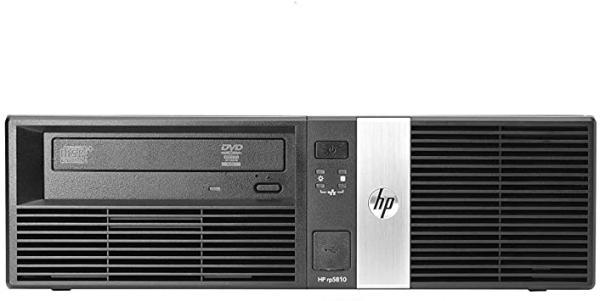 Компьютер HP RP5800, Core i3-2120 3.3/ Звук Видео LAN1Gb/ DDR3 8GB/ SSD 240GB/ Win 10 Pro черный, Восстановленный
