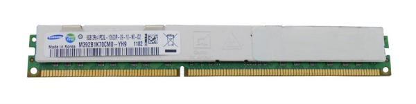 Оперативная память DIMM DDR3 ECC Reg  8GB, 1333МГц (PC10600) Samsung M392B1K70CM0-YH9 (аналог  IBM:43x5318), радиатор