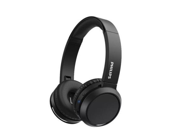 Наушники с микрофоном беспроводные BT дуговые закрытые Philips TAH4205BK/00