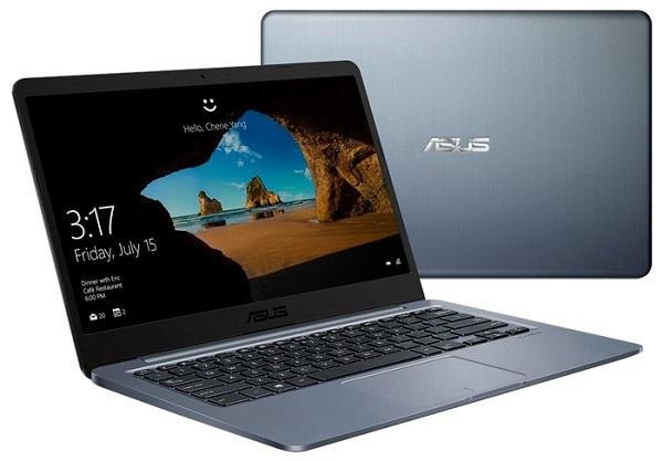 "Ноутбук 14"" ASUS E406NA-BV014T, Celeron N3350 1.1 4GB 128GB SSD 1366*768 TN 2*USB3.0 WiFi BT HDMI 1.3кг W10 серый"