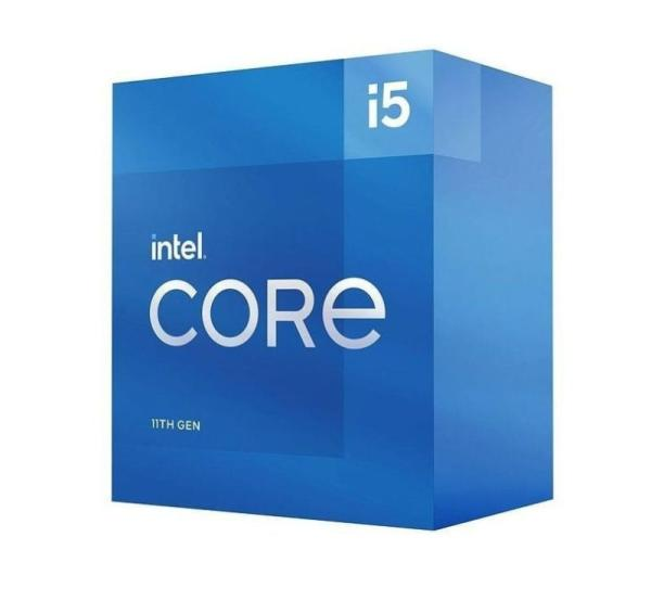 Процессор S1200 Intel Core i5-11600K 3.9ГГц, 6*256KB+12MB, 8ГТ/с, Rocket Lake-S 0.014мкм, видео 1200МГц, 125Вт, BOX