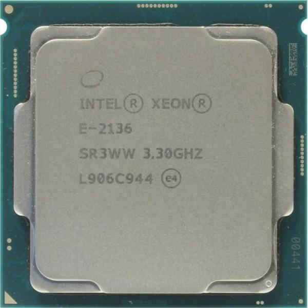 Процессор S1151 Intel Xeon E-2136, 12MB, Coffee Lake 0.014мкм, Six Core