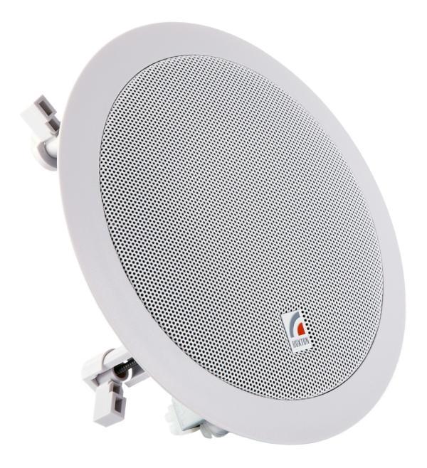 Колонка потолочная ROXTON PA-620T, 6Вт RMS, 90..18000Гц, пластик, белый, б/у