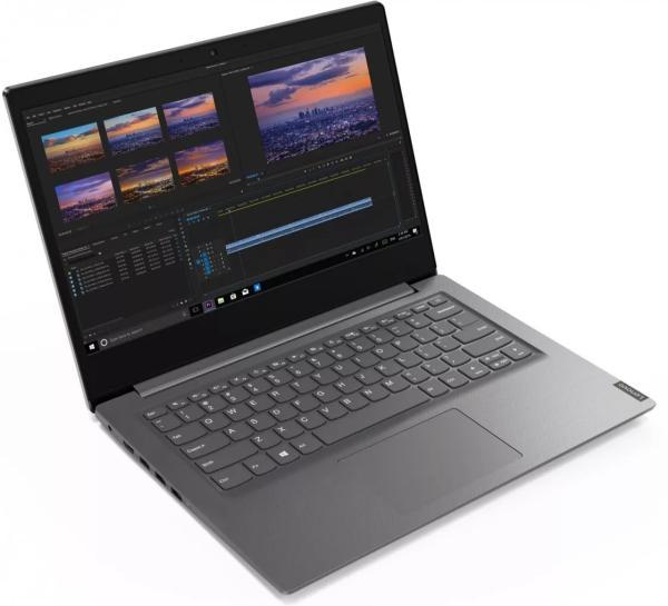 "Ноутбук 14"" Lenovo V14, Athlon Gold 3150U 2.4 8GB 128GB SSD 1920*1080 AMD Radeon USB2.0/2*USB3.0 WiFi BT HDMI камера SD 1.6кг W10PRO серый"