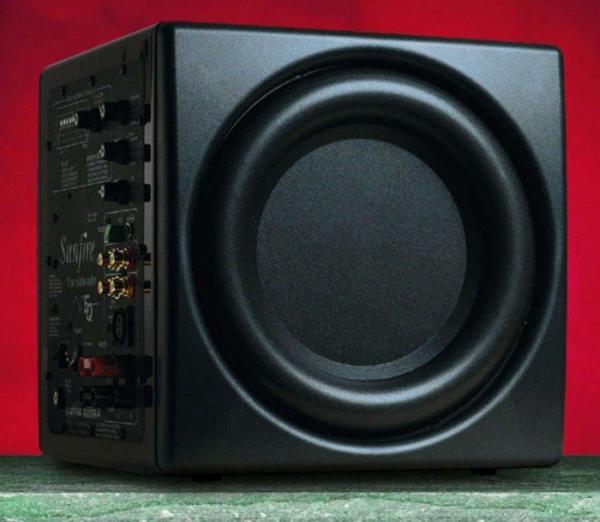 Сабвуфер активный Sunfire True Subwoofer EQ Signature, 400Вт, 16..100Гц, 91дБ, микрофон, черный, б/у