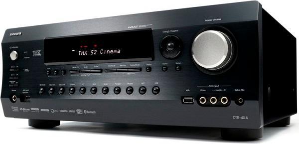 Ресивер Integra DTR-40.5, 7.2 7*185Вт 6Ом, THX Select2 Plus, HDMI, SPDIF, DLNA, LAN, USB, WiFi, Bluetooth, черный, б/у