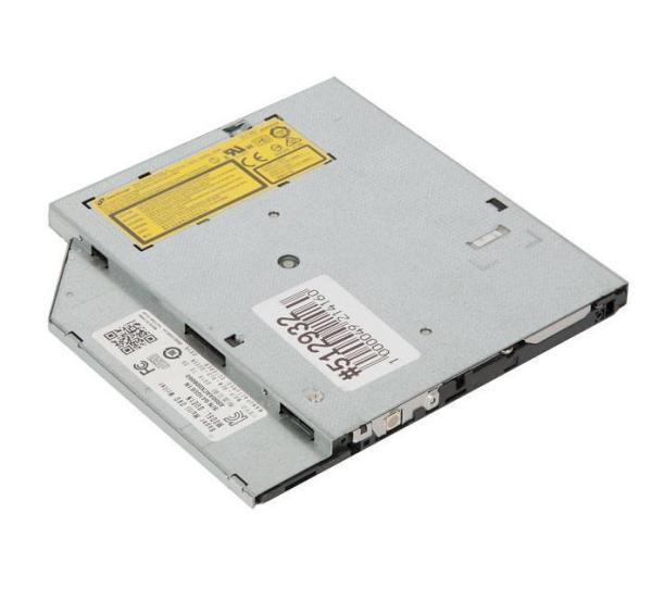 Привод DVD-RW тонкий LG GUE1N, SATA, для ноутбука, черный